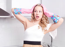 Housewife Stock Photography