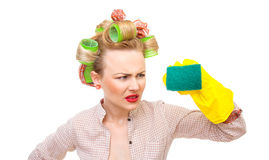 Housewife Royalty Free Stock Images