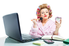 Housewife-3 Royalty Free Stock Photos