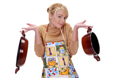 The housewife Stock Images