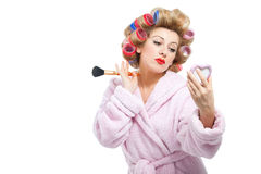 Housewife-8 Royalty Free Stock Photos