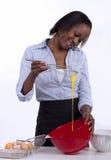 Housewife baking Stock Photos