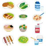 Housewife ingredients food Royalty Free Stock Photos