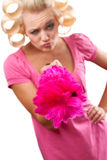 Housewife portrait Stock Photography