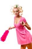 Housewife portrait Stock Image