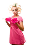 Housewife portrait Stock Images