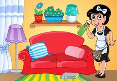 Housewife theme image 2 Stock Photo