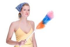 Housewife at work Stock Photos