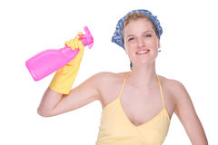 Housewife at work Stock Photo