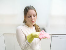 Housework 2 Royalty Free Stock Image
