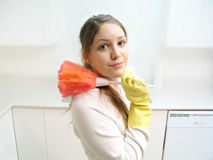 Housework royalty free stock photo