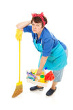 Housework is Drudgery Royalty Free Stock Photography