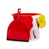 Housework items Stock Images