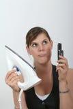 Housework ou negócio Imagens de Stock