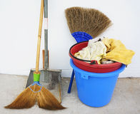 Housework supplies Stock Photos