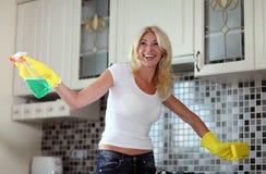 Housework. Tarefas em torno da casa Fotos de Stock Royalty Free