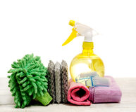 Housework tools Stock Photography