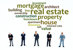 Housing. Relevant topics regarding mortgage, real estate and property Royalty Free Stock Images
