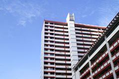 Housing Apartments Singapore Royalty Free Stock Photography