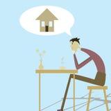housing av behovspersonen Arkivbild