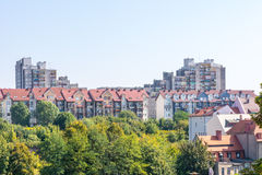 Housing Block in Poland Royalty Free Stock Photography
