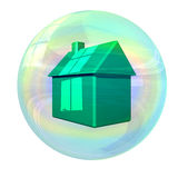 Housing bubble Stock Images