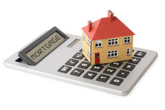 Housing calculator Royalty Free Stock Photography