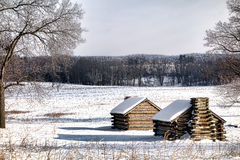 Housing Camp Cabins at Valley Forge National Park royalty free stock photography