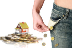 Housing cocnept. Royalty Free Stock Image