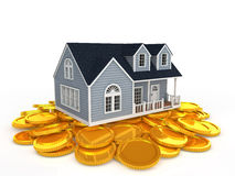 Housing and coin Stock Photos