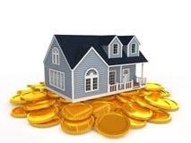 Housing and coin Stock Photos