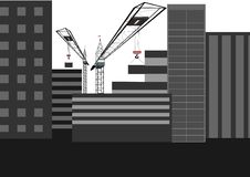 Housing Construction Royalty Free Stock Images