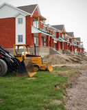 Housing Construction Project Royalty Free Stock Images