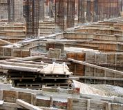 Housing Construction Site Royalty Free Stock Images