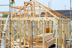 Housing construction Stock Photos