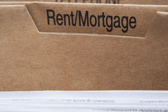 Housing Costs Royalty Free Stock Photos