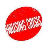 Housing Crisis rubber stamp Royalty Free Stock Photography