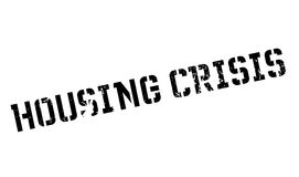 Housing Crisis rubber stamp. Grunge design with dust scratches. Effects can be easily removed for a clean, crisp look. Color is easily changed Stock Photography