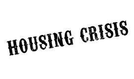 Housing Crisis rubber stamp Royalty Free Stock Images