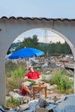 Housing crisis under the sun Stock Image