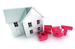 Housing Debt Stock Image