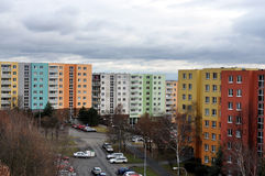 Housing development. City - Brno, the Czech Republic Stock Photos