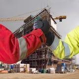 Housing development agreements Royalty Free Stock Image