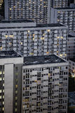 Housing development. Huge housing blocks in Warsaw Royalty Free Stock Photos
