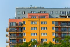 Housing development Royalty Free Stock Photo