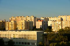 Housing development Royalty Free Stock Image