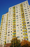 Housing development with tower blocks Royalty Free Stock Image