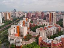 Housing Estate royalty free stock photos