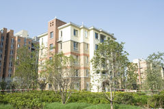 Housing estate. China's modern life area of the building stock photography