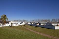 Housing estate, Alberta, Canada Royalty Free Stock Image